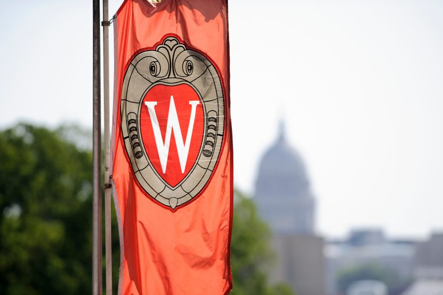 UW Madison Flag Banner